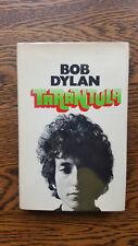 Bob Dylan – Tarantula (1st/1st UK 1971 hb with dw) Nobel Prize only novel