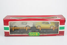 LGB FREIGHT CAR 4159, G Scale / Iim, car carrying wagon with Model Cars