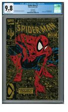 Spider-Man #1 (1990) Gold Variant/ Key 1st Issue Todd McFarlane CGC 9.8 BT181