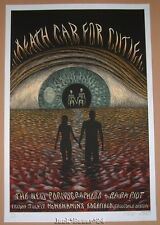Emek Death Cab for Cutie Troutdale Poster Print Sunset Signed Numbered Doodled