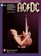 AC/DC Angus Young Guitar Signature Licks Tab Book NEW!