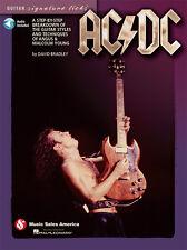 AC/DC Angus Young Guitar Signature Licks Tab Book NEW!