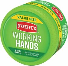 O'Keeffe's Working Hands Hand Cream Value Size, 6.8 oz., Jar