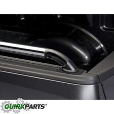 2015-2017 Ford F150 6.5 Side Bed Rails Chrome w Black End Caps & Install Kit OEM