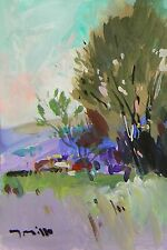 JOSE TRUJILLO Acrylic Painting ORIGINAL American Impressionism Landscape SIGNED