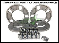 """4 CHEVY WHEEL SPACERS 5X4.75 