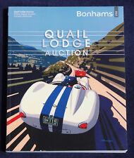 Bonhams Quail Auction 2013 Pebble Beach, Gullwing, Ferrari, Porsche 906, Bentley