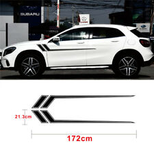 BLACK Stripe Sticker car Vinyl Decal 172x21.3cm DIY