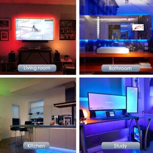 USB LED Strip Light 2835SMD Flexible Lamp Tape Gaming Desktop Screen Backlight