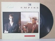 """EMPIRE- This is My Word 12"""" (1988) **HAND SIGNED WITH PROMO LABEL** Synth Pop"""