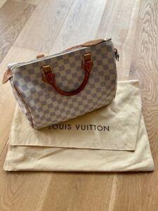 Louis Vuitton Speedy 30 in Damier Azur Canvas