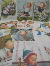 Vintage Eloise Wilkin Illustrations Book Pgs Babies Nursery Decor Junk Journals