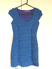 Sexy Blue Bodycon Short Dress From BLOCH Florence st Size XS 8