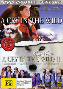 A CRY IN THE WILD & A CRY IN THE WILD 2 - VERY RARE 2 FILMS DVD (NEW & SEALED)