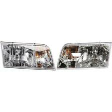 New FO2503200, FO2502200 Headlight Set for Ford Crown Victoria 1998-2011