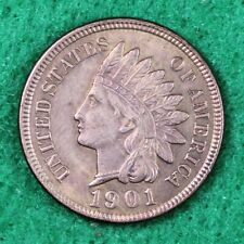 1901 INDIAN HEAD CENT in UNCIRCULATED (UNC) CONDITION