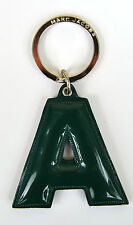 Marc by Marc Jacobs Alphabet Letter Initial Key Ring Chain Charm Holder Green A