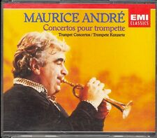 MAURICE ANDRE - 12 Trumpet Concertos - BACH / HANDEL / HAYDN / VIVALDI + - 2CDs