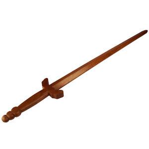 Tai Chi Schwert Übungsschwert aus Holz Trainingsschwert rote Eiche