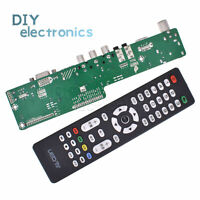V29 Universal LCD Controller TV Motherboard Support 7-55 inch LVDS Screen