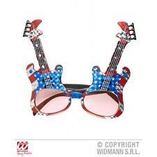 Novelty Guitar Sunglasses Glasses Rock Sar Fancy Dress Fun