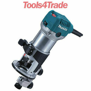 """Clearance Makita RT0700CX4 1/4"""" Router / Laminate Trimmer 240V"""