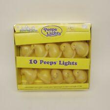 Christmas Lights Outdoor/Indoor Peeps Chicks Yellow Holidays lights 8 Ft Length