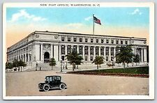 The New Post Office Building in Washington D.C. White Border Postcard Unused