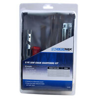 Blue Max Chainsaw Chain Sharpening Kit File Tool Set Guide Bar File Sharpener