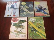 5 Model Airplane News 1966 Skypirate P-39 Ryan PT-22 Havilland Mosquito National