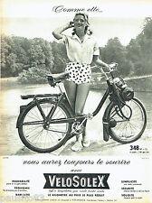 PUBLICITE ADVERTISING 026  1961  Velosolex  cyclomoteur