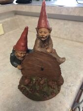 "Tom Clark Gnome ""Woody And Chane"" Signed  With COA"