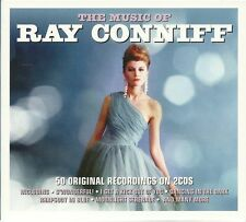 THE MUSIC OF RAY CONNIFF - 2 CD BOX SET - S'WONDERFUL, MIDNIGHT LACE & MORE