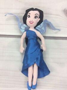 "Disney Fairies Silvermist 14"" Tinker Bell Water Fairy Plush DollSoft Blue"