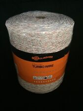 Gallagher G62089 Turbo Wire Fence  2624-Feet  White
