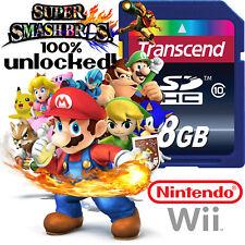 SUPER SMASH BROS BRAWL Nintendo Wii SD CARD SAVES Memory Card