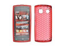 Housse Etui Coque Silicone Gel Rouge Diamand ~ Nokia 500