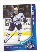 2011-12 St. John's IceCaps Paul (AHL) Paul Postma (Ak Bars Kazan)