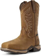Ariat 244034 Womens Waterproof Western Boots Distressed Brown Size 5.5 B
