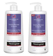 Neutrogena Visibly Renew Bodymilk Hautstraffend Anspruchvoll Haut 2x400ml 202