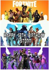 Personalised Fortnite Birthday Card- son daughter niece nephew brother sister