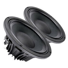 "Pair Faital PRO 10PR300 10"" Woofer Midrange Speaker 4 ohms 600W 98dB 2.5"" VC"