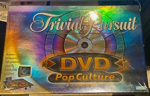 NEW Factory Sealed Trivial Pursuit Pop Culture DVD Board Game 2003 Parker Bros