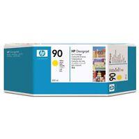 ORIGINAL HP 90 C5065A Amarillo Tinta 400ml Designjet 4000 4500 4520 MHD 5/2017