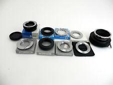 9x Adapter für Canon EOS M39 Leica M645 Exakta T2 MD M42 Tamron PB lo025