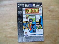SILVER AGE CLASSICS DETECTIVE # 327 NEW LOOK BATMAN SIGNED JOE GIELLA, WITH POA