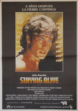 Staying alive  -- Cartel de Cine Original --