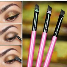3Pcs Makeup Brushes Set Oblique Angled Eyebrow Brush Eye Liner Brow Make Beauty