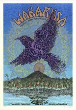 Mint & Signed Emek Widespread Panic 2010 Wakarusa Cream Poster 34/100