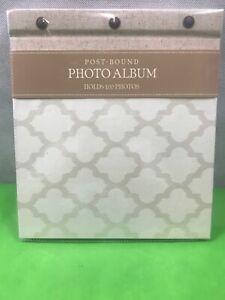 """CR Gibson Photo Album Post Bound 9""""x10"""" New Stock Free Shipping $32 Retail"""